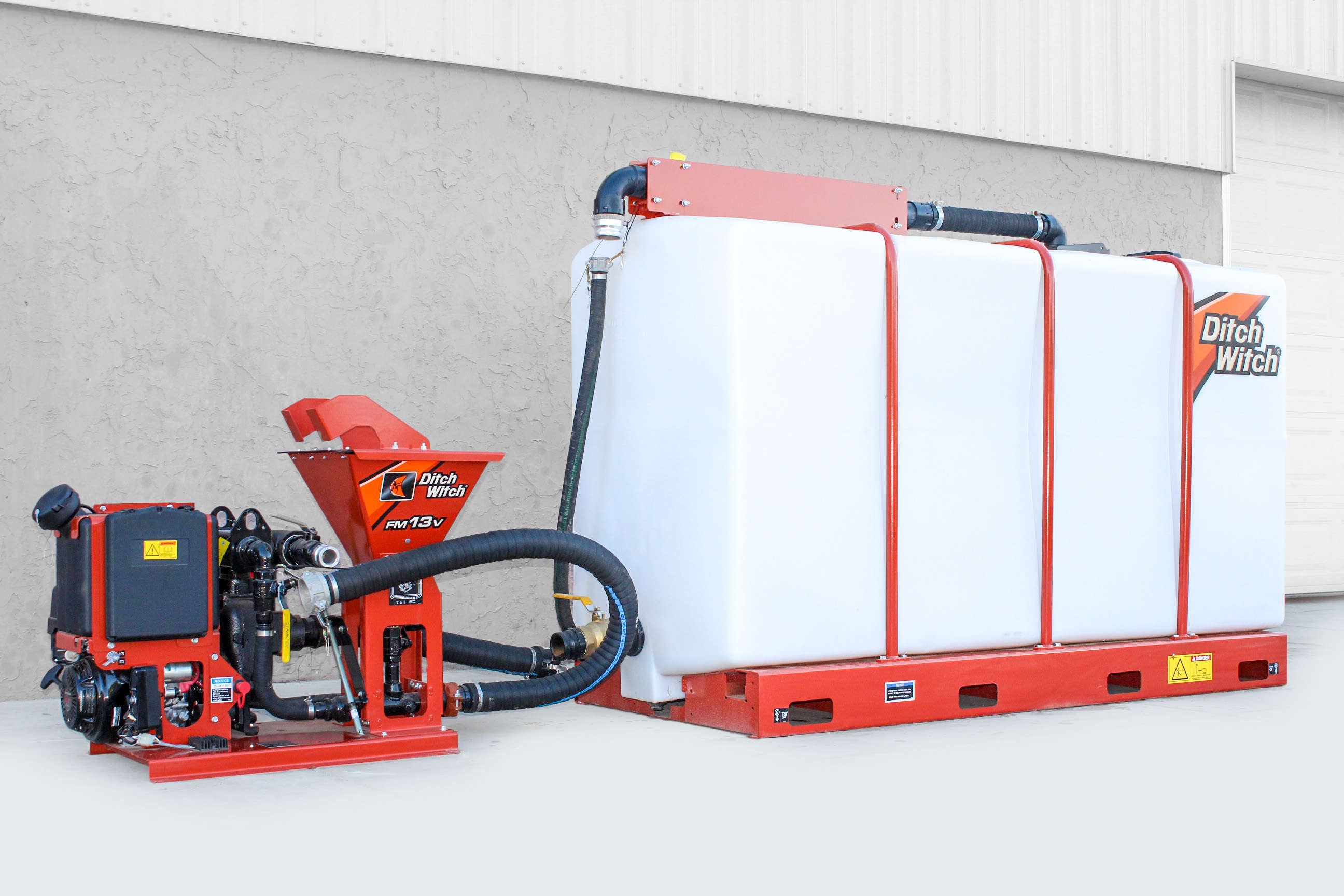 Ditch Witch FM13V Mud Mixing System (500-gal)