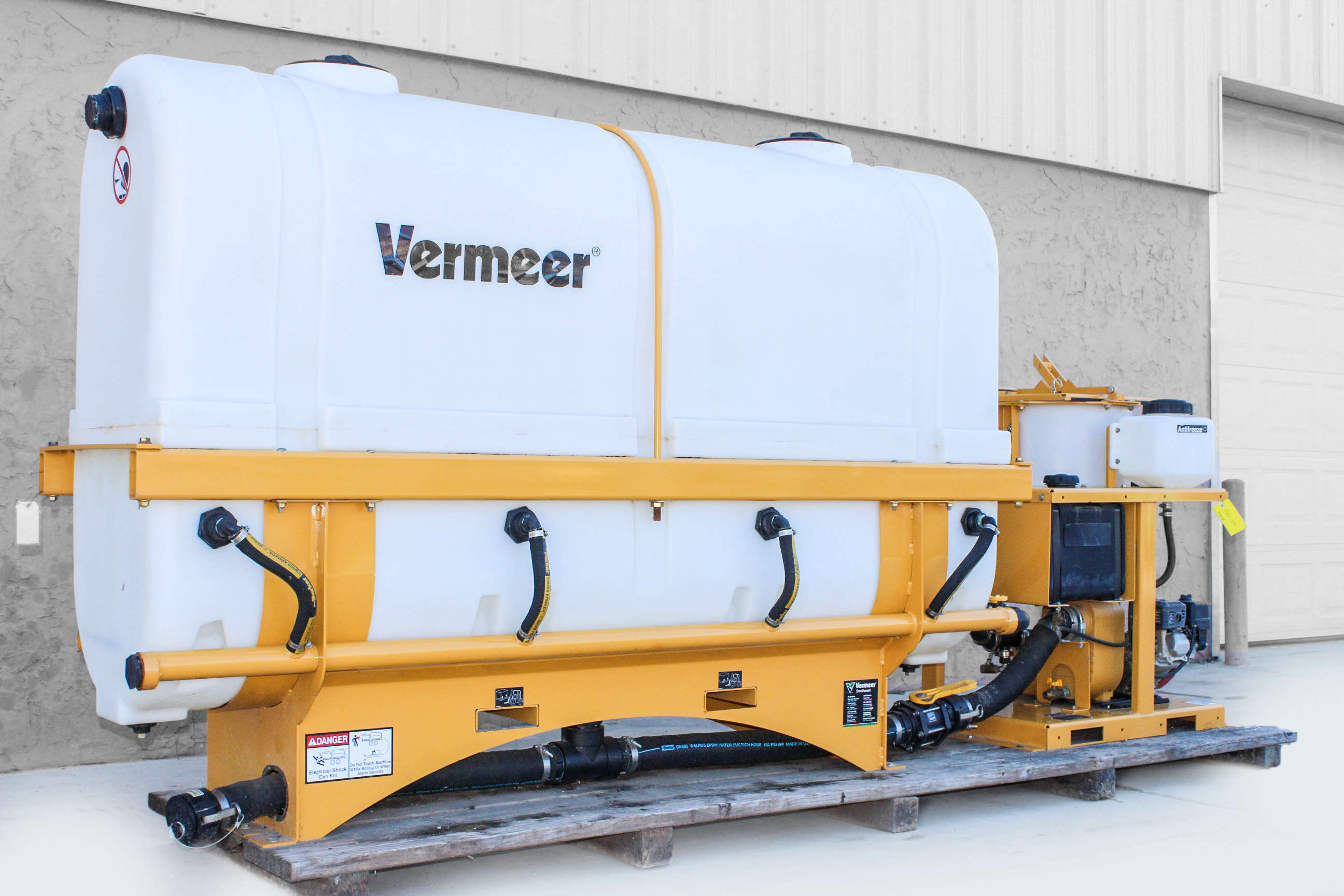 Vermeer mx125 mud mixing system