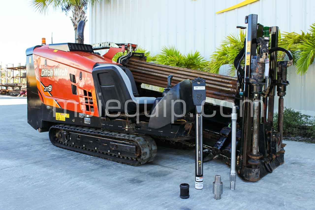 2015 Ditch Witch JT9 horizontal directional drill for sale